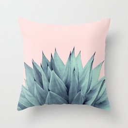 Agave Vibes #12 #tropical #decor #art #society6 Throw Pillow