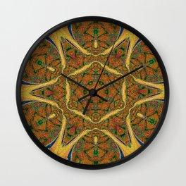 Puzzling Kaleidoscope Wall Clock