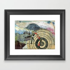 Wheel of Fortune Framed Art Print