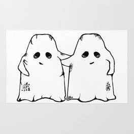 Ghost Friend Rug