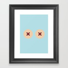Boopy Framed Art Print