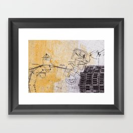 overflow #5 Framed Art Print