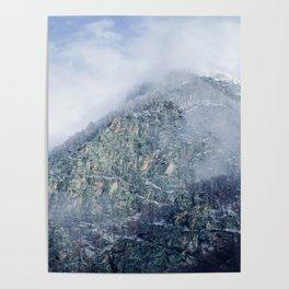 Carpathian mountains Romania Poster