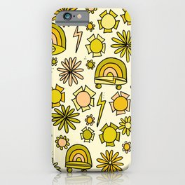 Radical daydreams surf and skate // retro art by surfy birdy iPhone Case