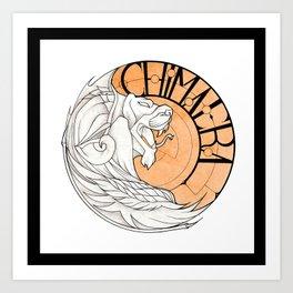 Insignia Chimaera Art Print