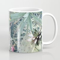 cacti Mugs featuring CACTI by Beth Hoeckel