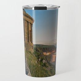 Mussenden Temple,Castle rock,Ireland,Northern Ireland,Antrim Coast Travel Mug
