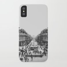 View of Paris Slim Case iPhone X