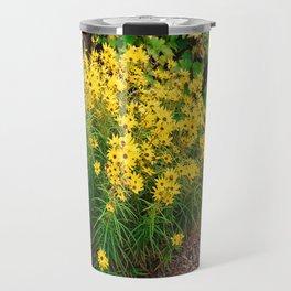 Yellow Wildflowers Travel Mug