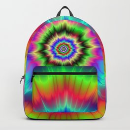 Psychedelic Explosion Backpack