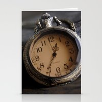 pocket Stationery Cards featuring Pocket Watch by Colleen G. Drew