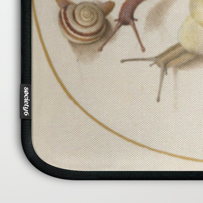 Naturalist Snails Laptop Sleeve