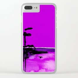 Introspection No. 20K by Kathy Morton Stanion Clear iPhone Case