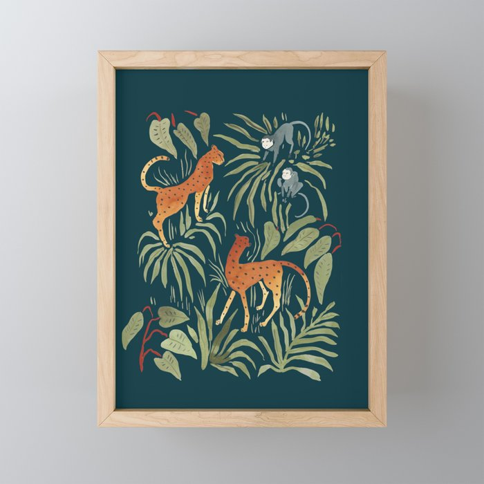 Monkey Business Framed Mini Art Print