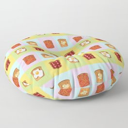 Toasty Toppings Floor Pillow