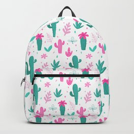 Cactus Pattern Fun Backpack