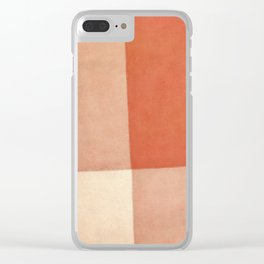 Seclusion Clear iPhone Case