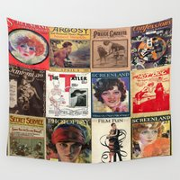 pulp Wall Tapestries featuring pulp by Jeni Decker