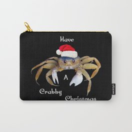Crabby Christmas Carry-All Pouch