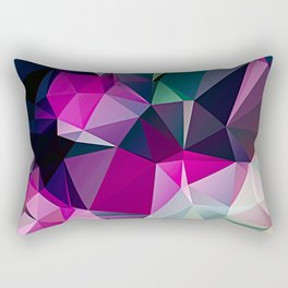Polygonal Triangles Vol 1 Rectangular Pillow