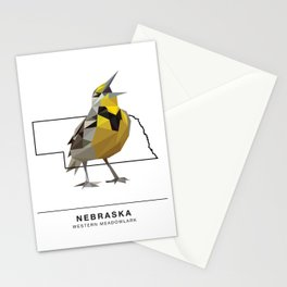 Nebraska – Western Meadowlark Stationery Cards