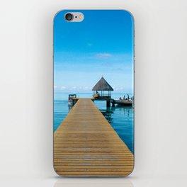 Tahiti Boat Dock iPhone Skin