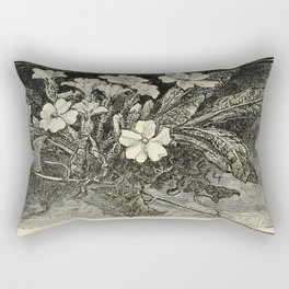 Pale Primrose Rectangular Pillow