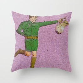 The Bulimic Sphincter #9 Throw Pillow