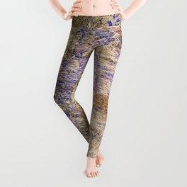 Purple Gold Leggings