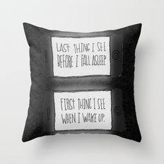 EYESIGHT FAILING Throw Pillow