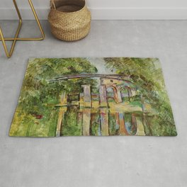 Paul Cézanne - Le Moulin brûlé à Maisons-Alfort Rug
