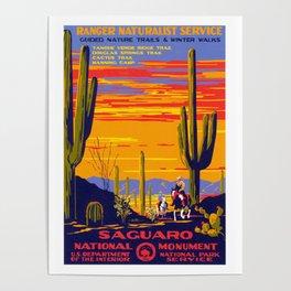 Saguaro NP Poster