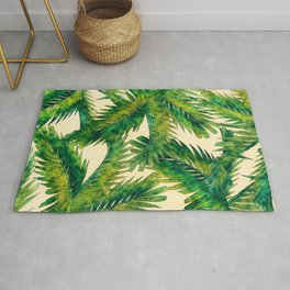 Palms #palm #palms #flower Rug