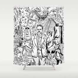 Charles Fort Shower Curtain
