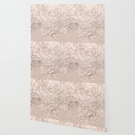 Blush Glitter Dream #4 #shiny #decor #art #society6 Wallpaper