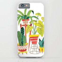Happy Plants Happy Home iPhone Case