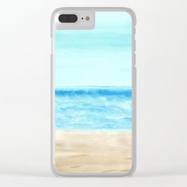 skyscapes 7 Clear iPhone Case