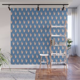 Cool Hands Pattern Wall Mural