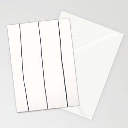 MOD_WigglyLinesLight_Charcoal Stationery Cards