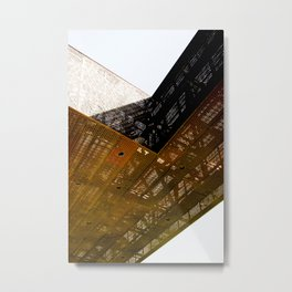 Structure 0801 Metal Print