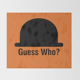 Guess Who? Throw Blanket