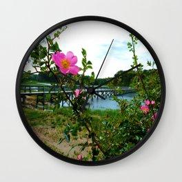 Cape Rose in Full Bloom Wall Clock