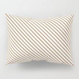 Iced Coffee Stripe Pillow Sham