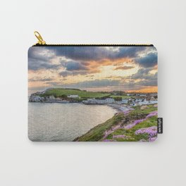 Freshwater Bay Sea Thrift Sunset (V) Carry-All Pouch