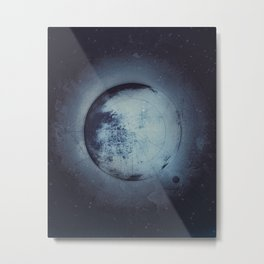 There (2) Metal Print