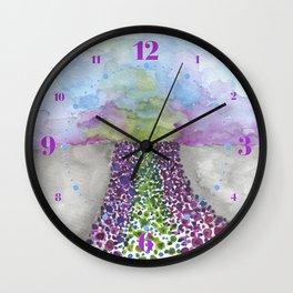 Paths of Color III Wall Clock