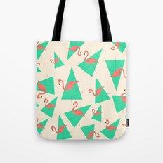 Crazy Flamingos Tote Bag
