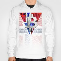 norway Hoodies featuring bitcoin Norway by seb mcnulty