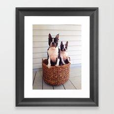 Basket Cases Framed Art Print