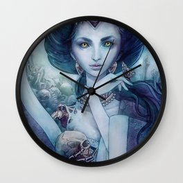 Queen of the dead Wall Clock